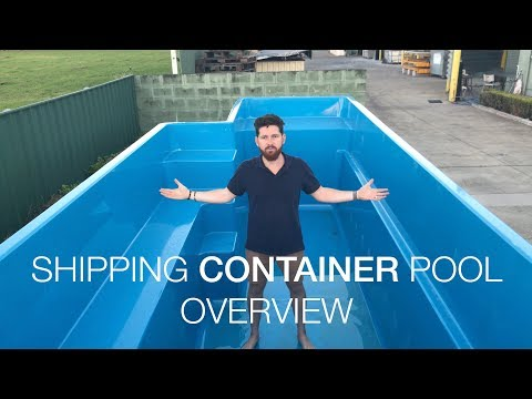 Shipping Container Pool Overview