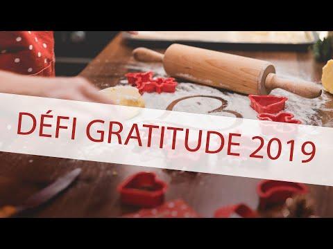 Défi gratitude 2019