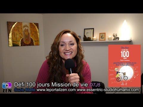 Défi des 100 jours Mission de vie, aux Éditions Le Dauphin Blanc !