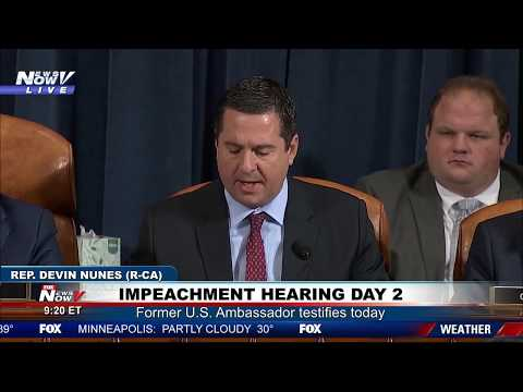 TRUMP IMPEACHMENT DAY 2: Devin Nunes Opening Statement