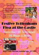 Festive Tottenham Flea at the Castle