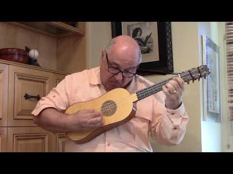 Fantasie by Guillaume Morlaye for Renaissance Guitar