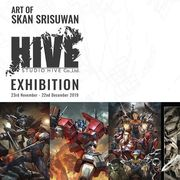 "งาน ""Art of Skan Srisuwan and Studio HIVE"""