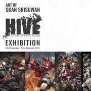 """งาน """"Art of Skan Srisuwan and Studio HIVE"""""""