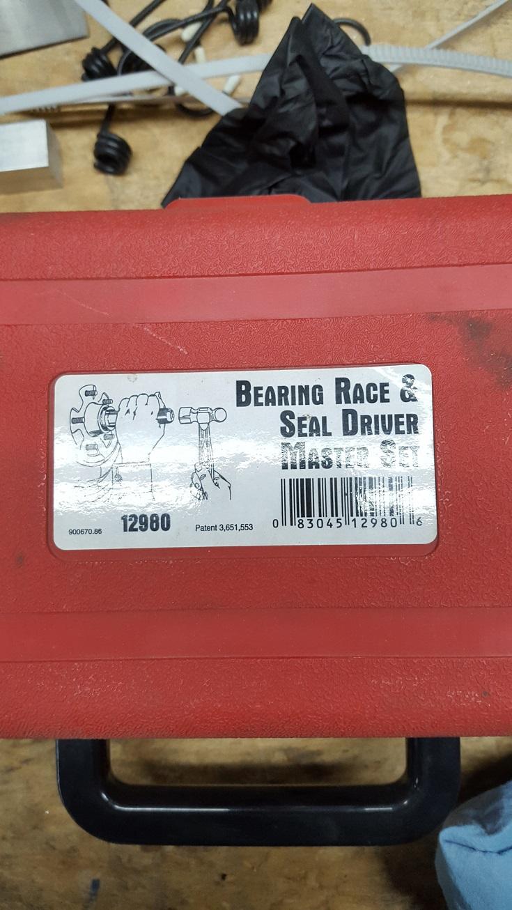 Bearing and Seal driver