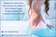 Behavioral intervention can improve the quality of life of Spinal Fusion Surgery patients with increased physical activity