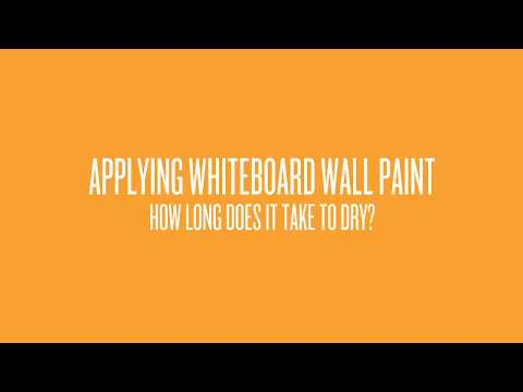 How Long Does Top Quality Whiteboard Take to Dry?