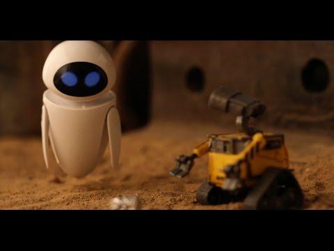 TA-DA -- WALL-E Stop Motion Animation by Heavy Visuals