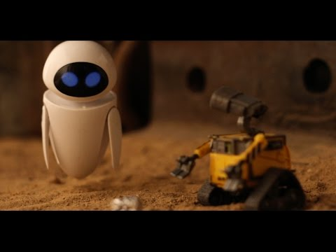 TA-DA -- WALL-E Stop Motion Animation by Heavy Visuals