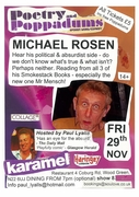 Poetry and Poppadums with Michael Rosen