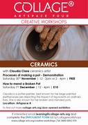 Ceramics with Claudia Claire - How to mend a Broken Pot