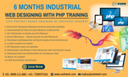 Web Designing with PHP 6 Months Industrial Training in Noida
