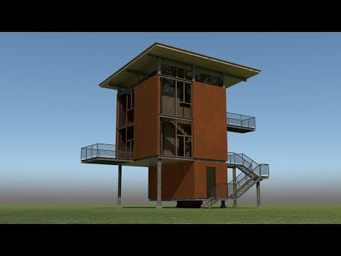 V-Ray for Rhino Quickstart Delta Shelter Example