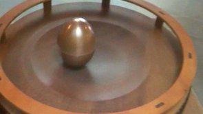 "TKK: Tesla's Egg of Columbus at the TKK Aalto University ""Nikola Tesla - The Man Who Lit The World""-exhibit"