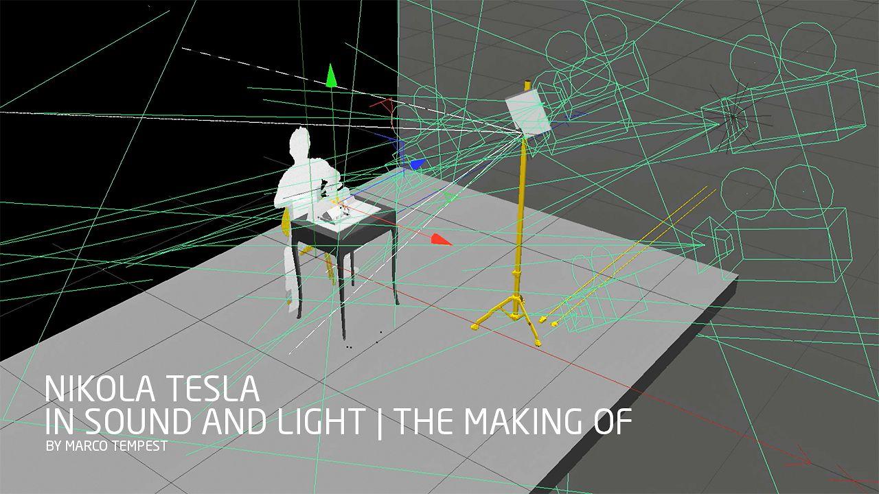 """Making of """"Nikola Tesla in Sound and Light"""""""