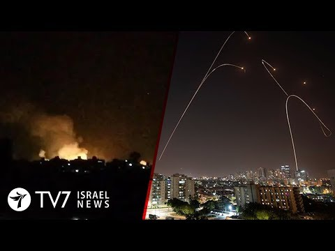 Israel launches wide-scale strike on Iranian targets in Syria - TV7 Israel News 20.11.19