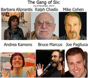 The Gang of Six Featured at Story Space Tue 11/26/2019
