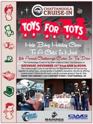 CHATTANOOGA TOYS FOR TOTS TOY DRIVE CRUISE IN