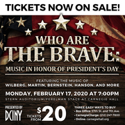 Who Are The Brave: Music in Honor of President's Day