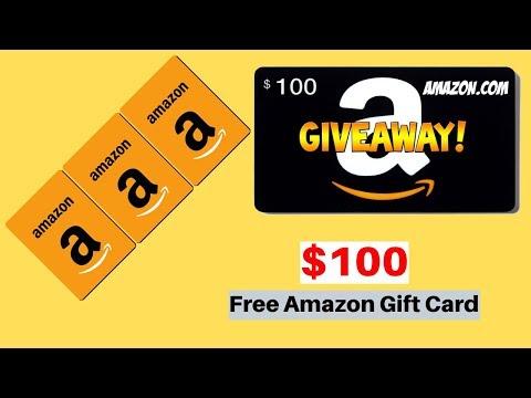 Free amazon gift card giveaway  -  Amazon gift card generator
