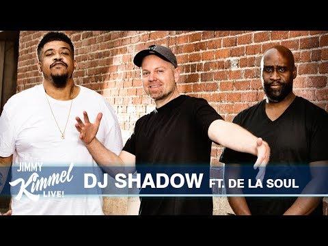 DJ Shadow Ft. De La Soul performs 'Rocket Fuel' on Jimmy Kimmel Live