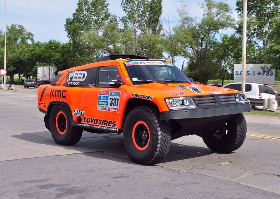 2016 Dakar Rally Sheldon Creed Prologue