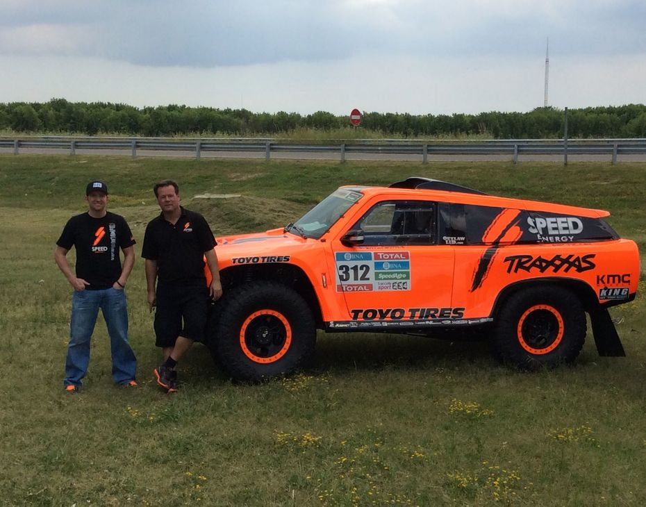 2016 Dakar Robby Gordon & Kellon Walch