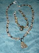 Labradorite Necklace and Bracelet