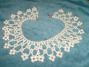 Historic Re-Creation of Germanic Wax Pearl Necklace 1500