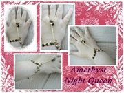 Amethyst Night Queen Bracelet at The Spellling Bee