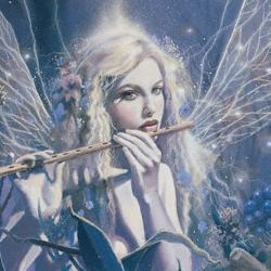 fairy with flute