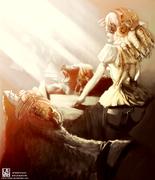 STEAMPUNK_FAIRYTALE_Goldylocks_by_Lavah