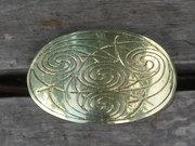 Celtic Four Spirals Hair Tie