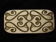 Celtic La Tene motif focus piece