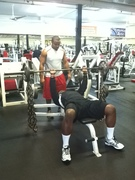 Bench Press w/ chains for reps