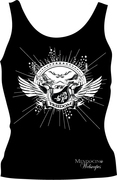 Black womens tank top are availale at Twin Vee Victory in Santa Rosa, California!!!