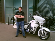 Another photo of me in front of the new White Cross Country Tour