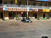 Winton Australian Hotel 5th July 2012. Arrived at 2330hrs on 4th July 2012
