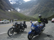 """Waiting at the Homer tunnel """"freezing"""""""