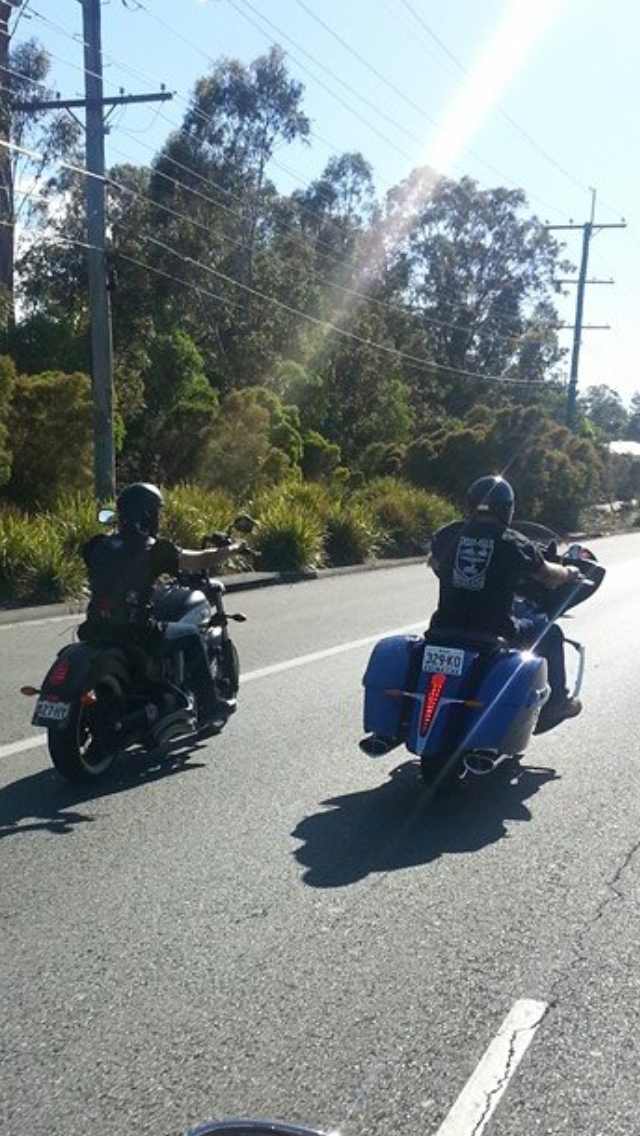 A Couple That Ride Together Stay Together