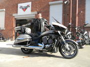Scott @ Victory Motorcycles Melbourne