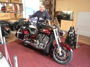 Jeff @ Victory Motorcycles Melbourne