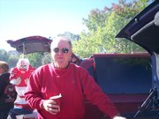Jeff Radder at one of our many Badger football tailgates.