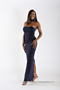 Showcasing Glamour Evening Gown Attire