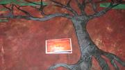 Close up tree of life