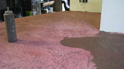 Concrete counter in process