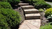 Steps carved overlay