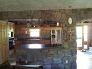 Kitchen double archway