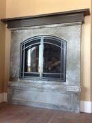 GFRC fireplace