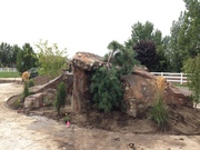 Eagle exterior hardscape and landscape project by VCC